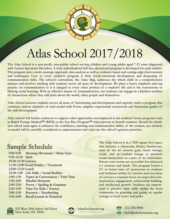 Atlas School 2017 2018