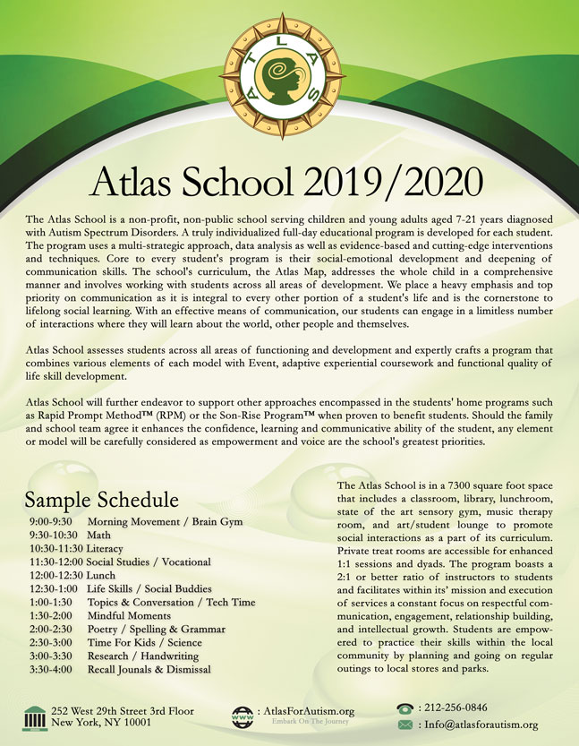 Atlas School 2018 2019